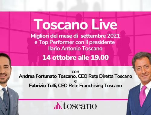 Toscano Live – I Migliori del Mese del periodo settembre 2021